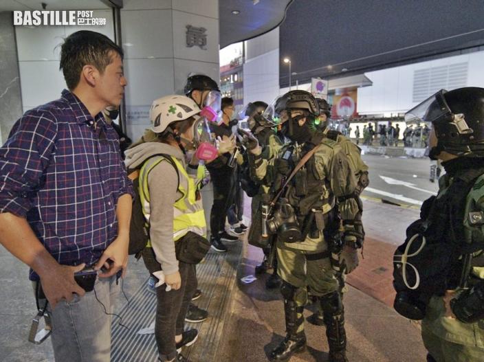 許智峯去年元旦遊行遭噴椒 投訴警察課回覆:警員並無過錯