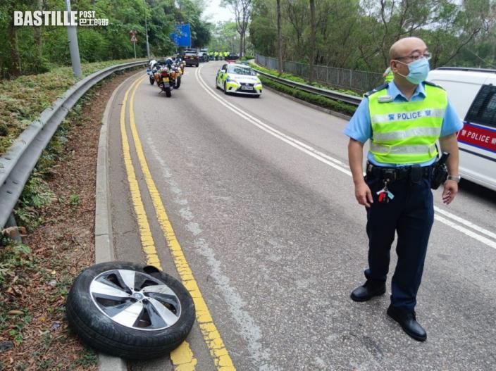 將軍澳5車相撞 至少7傷1司機昏迷送院