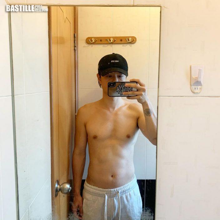 【想走「脂」埋嚟】晒結實二頭肌    陳健安斷食加健身12日減14磅