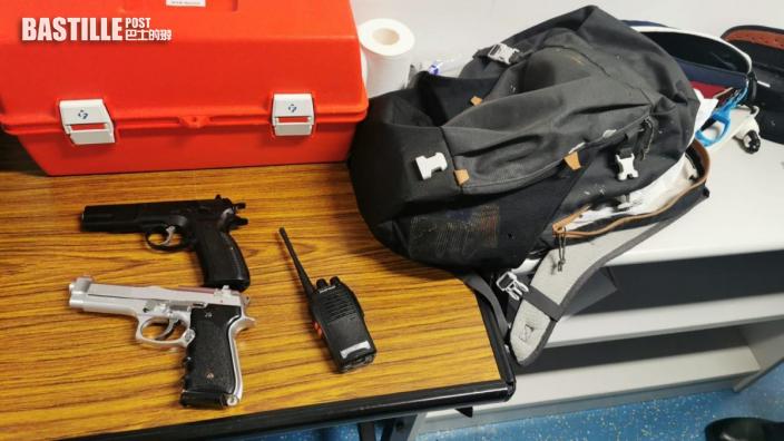 藏槍被捕港台記者 據悉去年涉襲警案脫罪