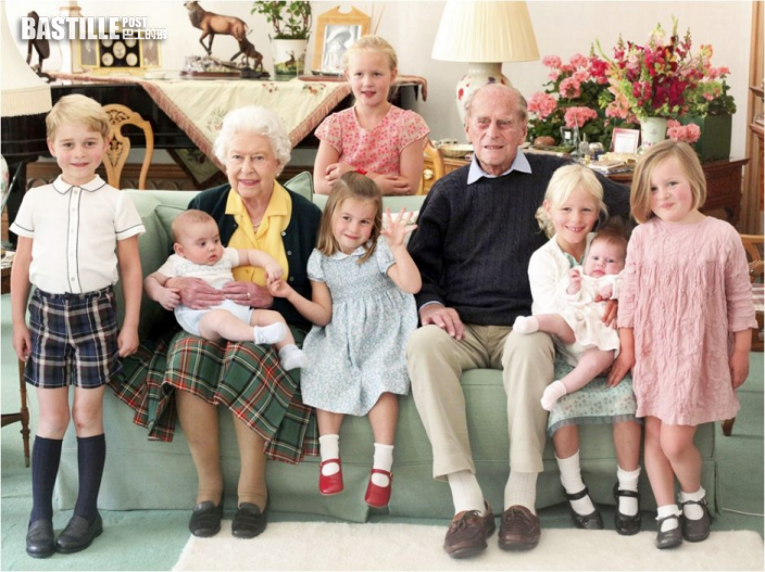 菲臘親王珍貴照片曝光 與七個曾孫合照場面溫馨