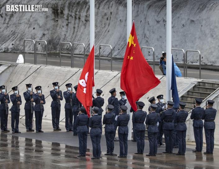 央視:紀律部隊首次中式步操反映國安不設防歷史終結