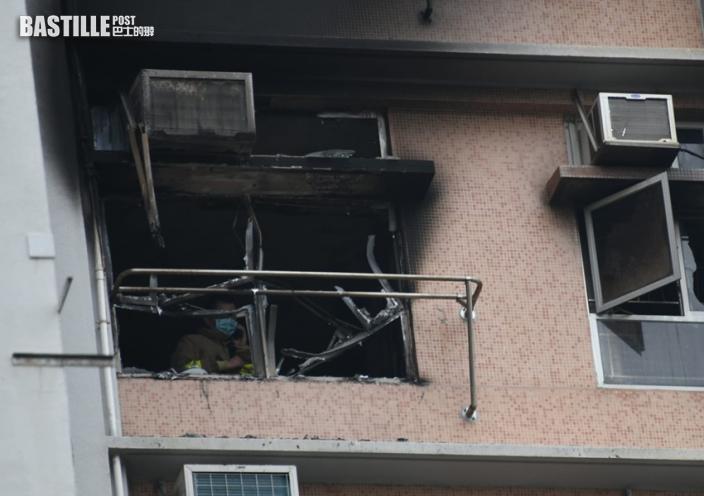 秀茂坪寶達邨火警六口家四死兩傷 男戶主面部熏黑送院