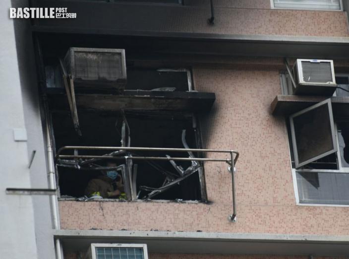 【寶達邨大火】警:客廳按摩椅鋰電池發熱短路 導致起火