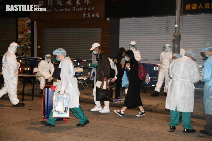 【變種病毒】圍封佐敦伯嘉士大廈 約80居民強檢零確診