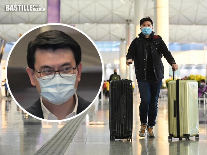 社區首現變種病毒 邱騰華:與新加坡商討建「旅遊氣泡」基本條件不變