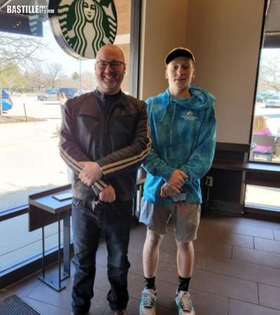 美國《尋人記》 「星巴克之嬰」尋回18年前助產咖啡師致謝