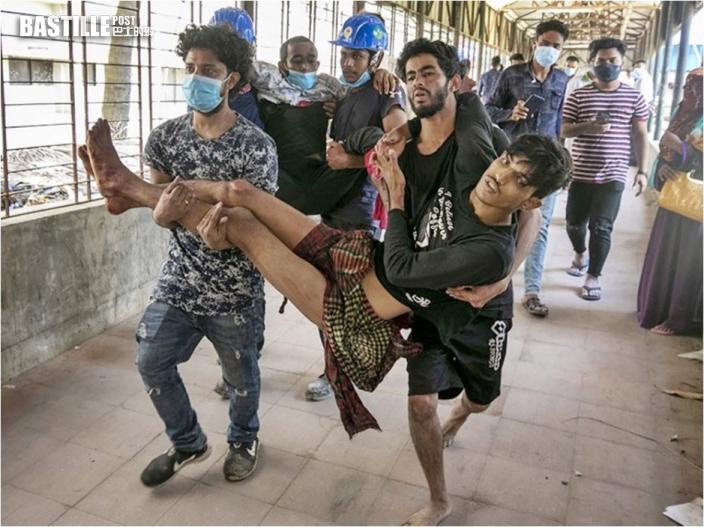 孟加拉中資發電廠爆示威 警方開槍驅散至少4死
