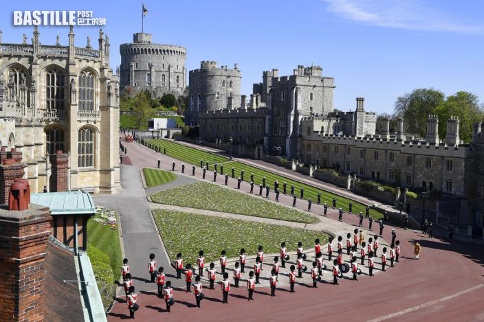 英國菲臘親王喪禮即將舉行 靈柩已移送至溫莎堡內廳