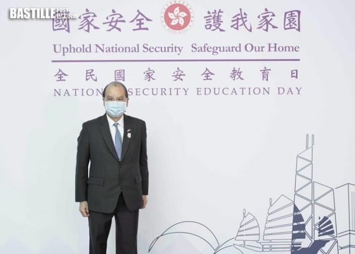 張建宗指國安威脅不根除 香港難言發展