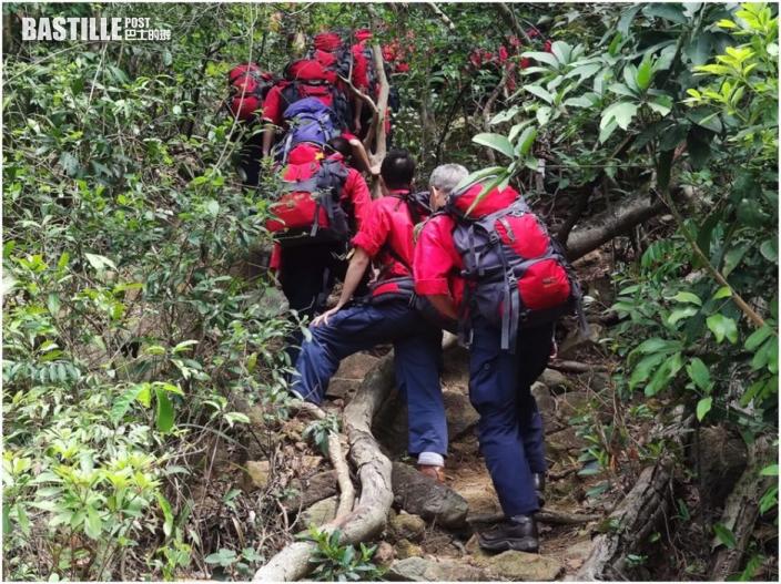 24歲女西廚行飛鵝山失蹤3日 早上發現一具屍體暫未知身分