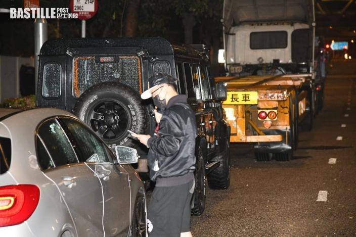 深水埗爆鹹水管射爆車窗 平治司機:年初花逾10萬購買