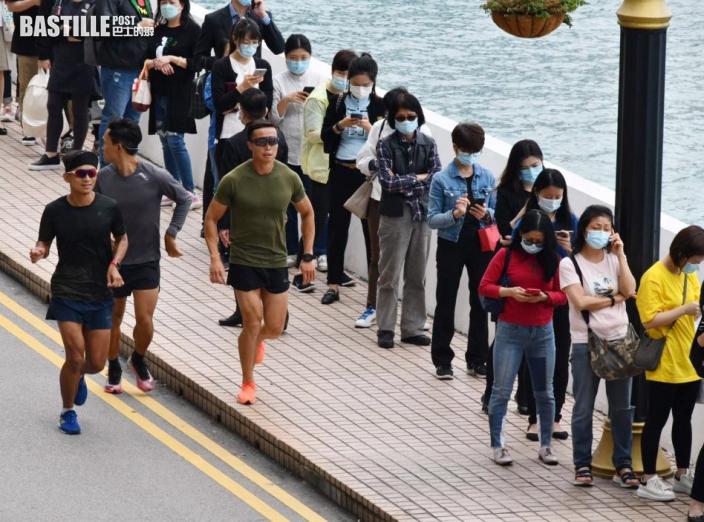 變種病毒患者曾到訪海港城citysuper 臨時檢測站現人龍