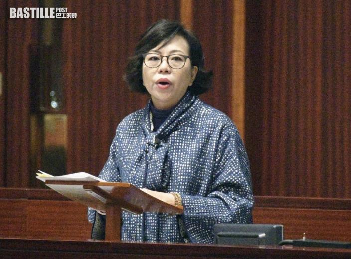 麥美娟:若不敢公開外國籍 應無資格參選選委會