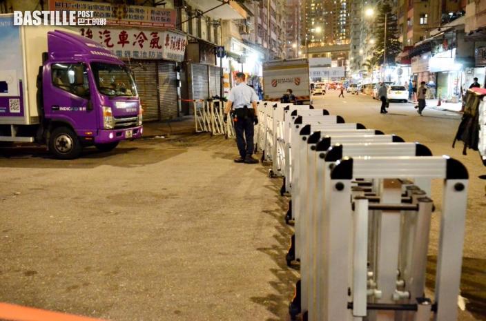 麗城花園二期第4座及荃灣芙蓉大廈封區強檢 明早7時或7時半完成