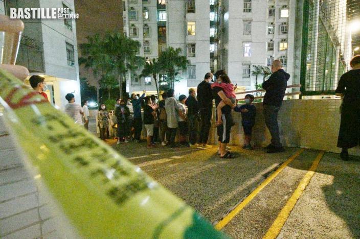 麗城二期第4座及荃灣芙蓉大廈封區強檢 明早7時後完成