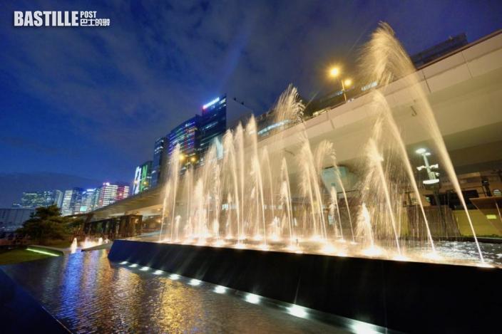 觀塘海濱音樂噴泉明啟用 每日3場表演周六日假期加開兩場
