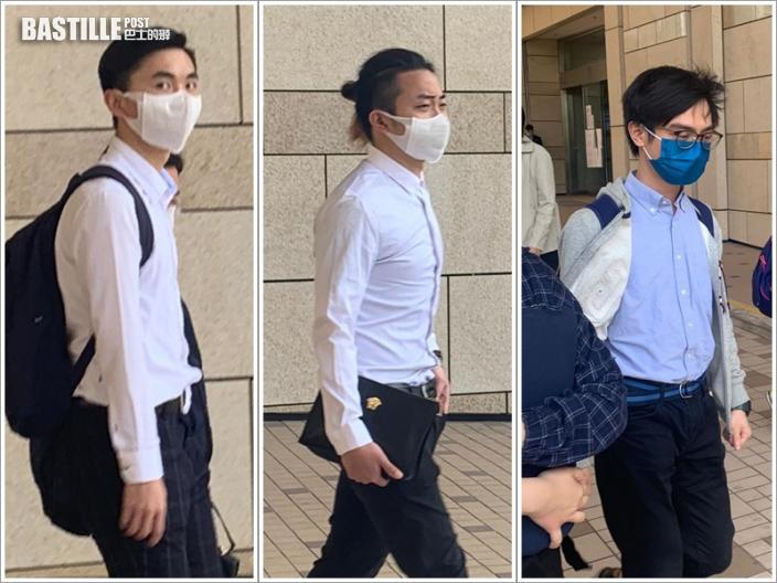 【大三罷】3男涉非法集結及違蒙面法 辯方質疑警方作供加鹽加醋