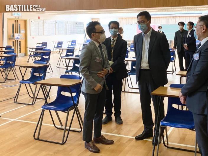 【DSE】周五開考 楊潤雄籲僱主讓員工彈性上班分散人流