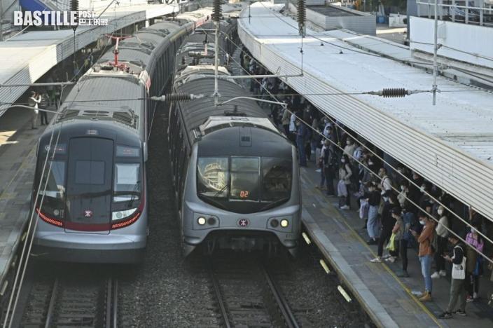 東鐵線九龍塘往大圍方向有延誤 港鐵籲乘客預留充裕時間