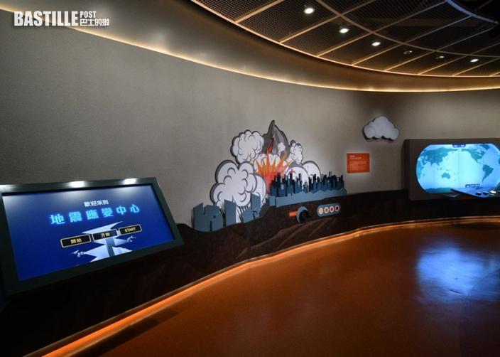 科學館新常設展廳明天起開放 可模擬體驗颱風威力