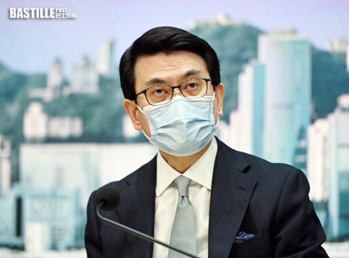 邱騰華:本港有條件讓全民打疫苗 故附加為外遊條件