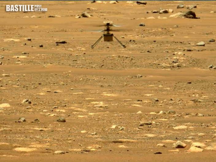 火星直升機「機智號」第3次飛行 飛得更遠更快達每秒兩米