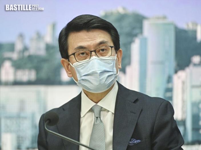邱騰華指日後商討旅遊氣泡以接種疫苗作起點 地區暫不包括台灣