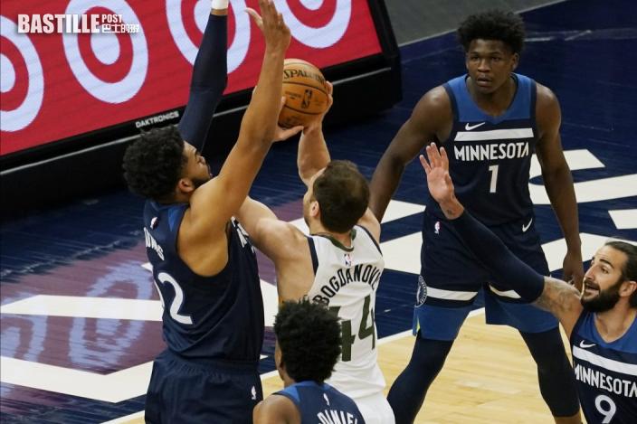 【NBA】迪安祖羅素廿七分雙雙 領木狼三殺爵士