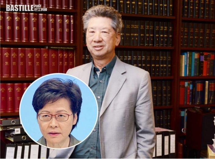 表明冀林鄭月娥留任 湯家驊:歷屆特首中最開放