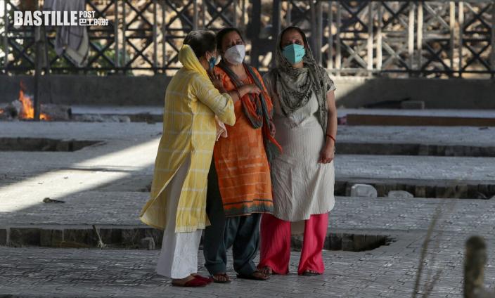 研究指印度疫情5月下旬才回落 單日恐增44萬確診