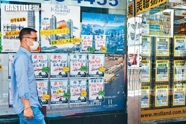 本港上月樓價指數連升3個月 創20個月新高