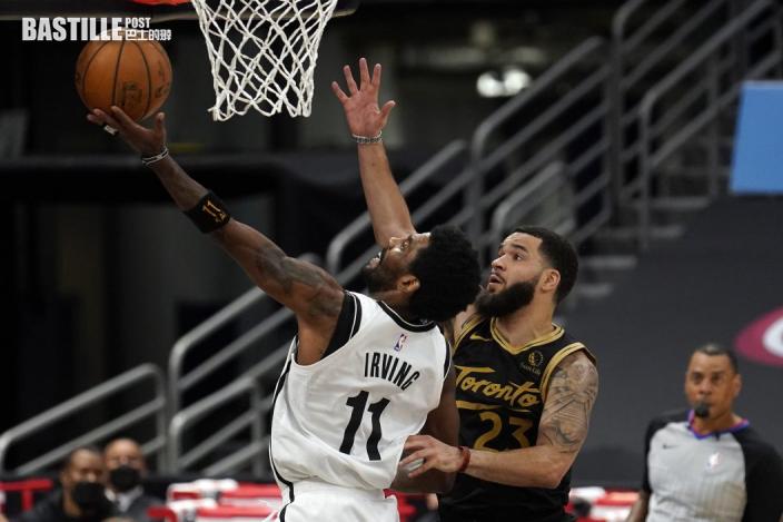 【NBA】杜倫十七分籃網挫速龍 東岸首支奪季後賽席位