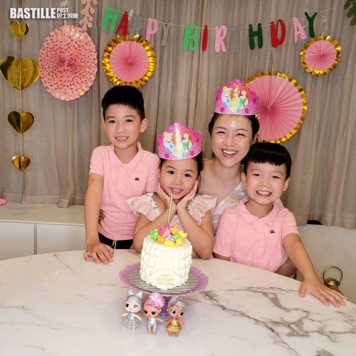 陳茵媺幫Camilla開五歲生日會         陳豪隔離中靠視像同囡囡慶生