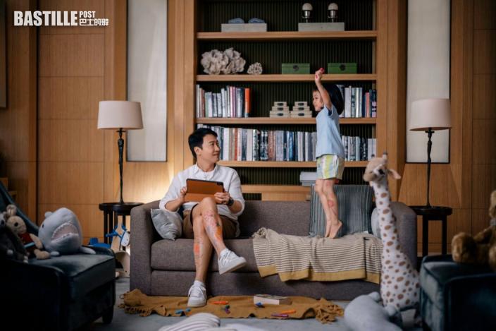 新廣告重現囡囡畫腿一幕 黎明為下一代鋪舒適快樂路