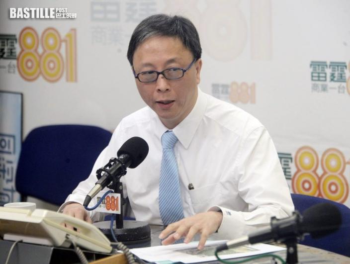 何栢良稱香港大部分人宜打針 不適合科興可轉復必泰