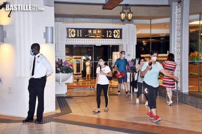 外傭感染10月大女嬰 東涌映灣園11座住客須撤離檢疫