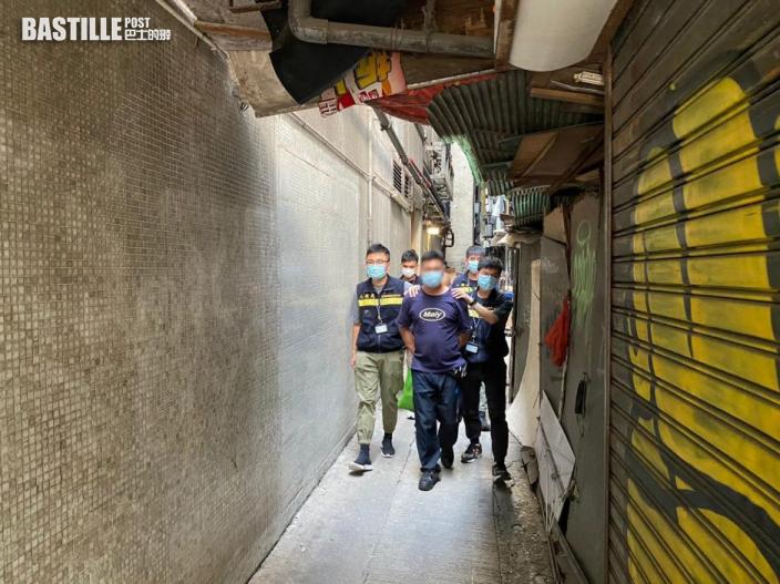 入境處打擊非法勞工 拘26人包括5名僱主
