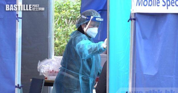 _政府延長大角咀櫸樹街流動採樣站的服務日期至本月11日。(港台圖片)