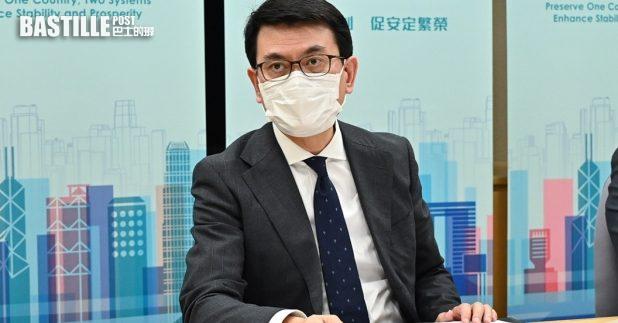 邱騰華強調選舉制度得以完善,可有效解決近年香港社會泛政治化和內耗不斷的困局。(政府新聞處圖片)