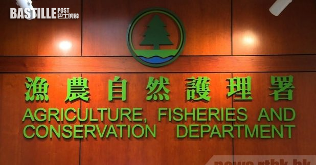 漁護署指,過去3年,曾成功向1宗在郊野公園內非法展示條幅的個案,提出檢控及定罪。(港台圖片)
