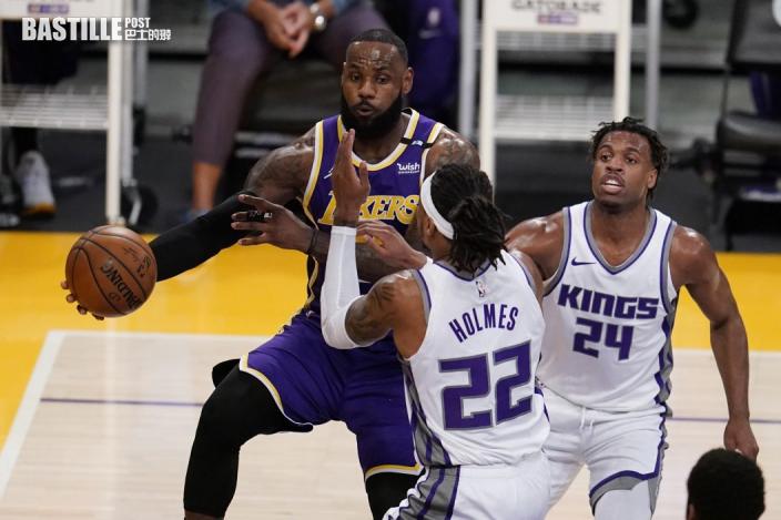 【NBA】休戰二十場後回歸 占士出擊湖人仍負帝王