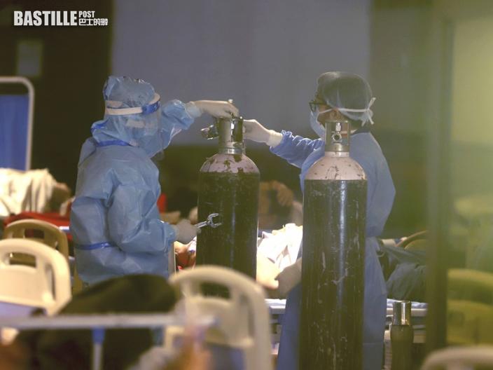 印度一日內暴增逾40萬宗新冠肺炎 再創單日紀錄