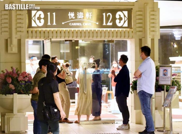 東涌映灣園11座1020居民已送檢疫 10戶仍未尋獲
