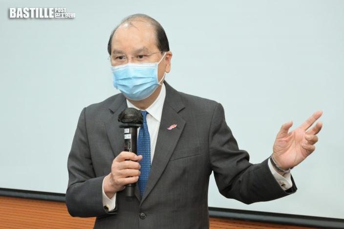 張建宗:重點加強培訓公僕認識香港憲制秩序