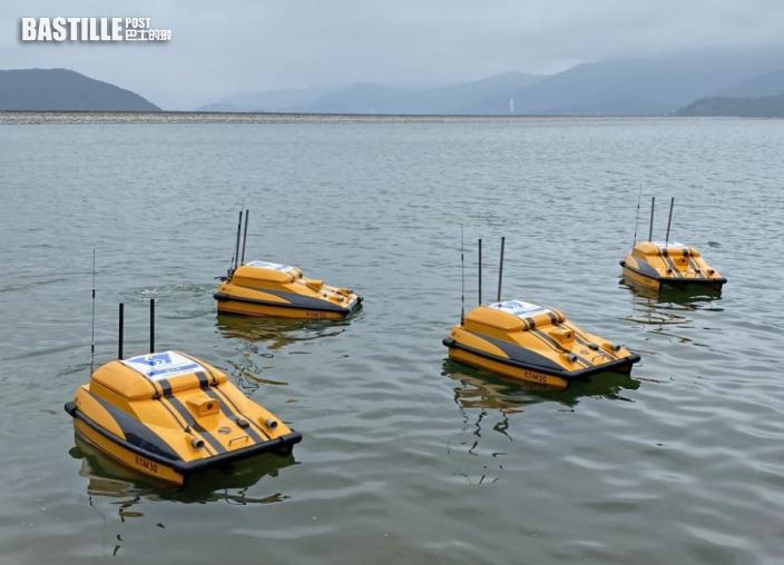 水務署無人船隊監測水質 研提升系統智能增實時操作
