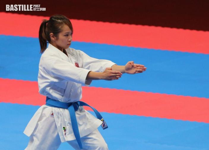 【空手道】決賽不敵日本選手 劉慕裳葡萄牙賽摘銀牌