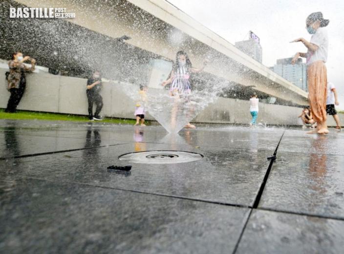 觀塘海濱音樂噴泉今日重開 康文署籲市民使用時著重公德