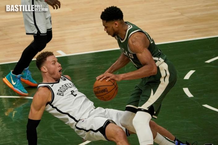 【NBA】字母哥杜倫鬥轟四十分 公鹿三分險勝籃網