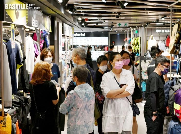 本港今年首季GDP按年增長7.8% 遠超預期